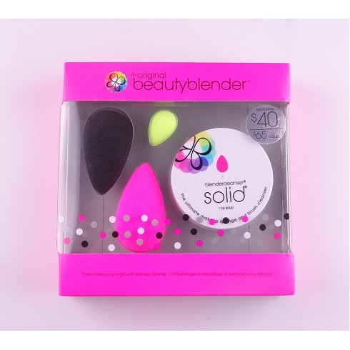 Набор 3 makeup sponge and Solid
